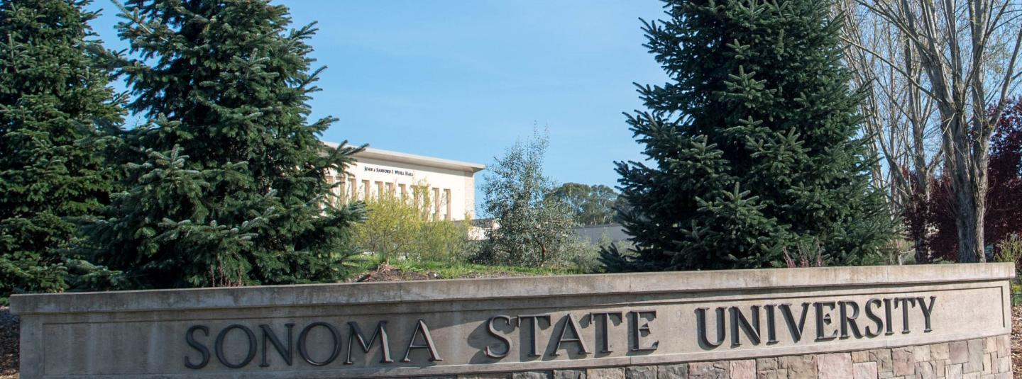 A Sign of Sonoma State